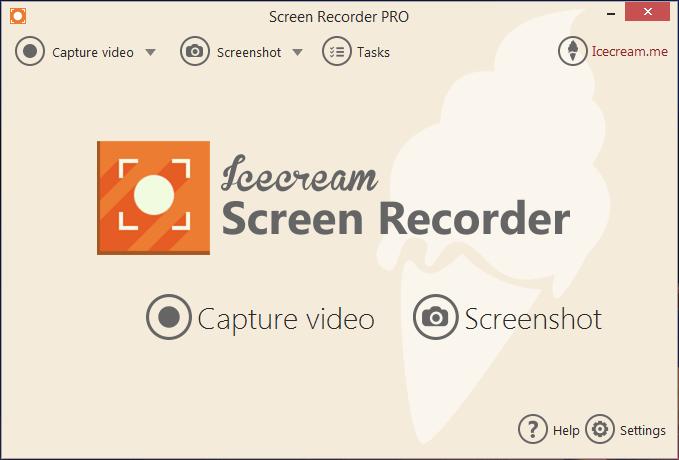 Icecream Screen Recorder 4.55 - Quay video, chụp ảnh màn hình