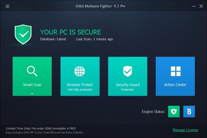 Phần mềm IObit Malware Fighter Pro 4.3.1 Full Crack