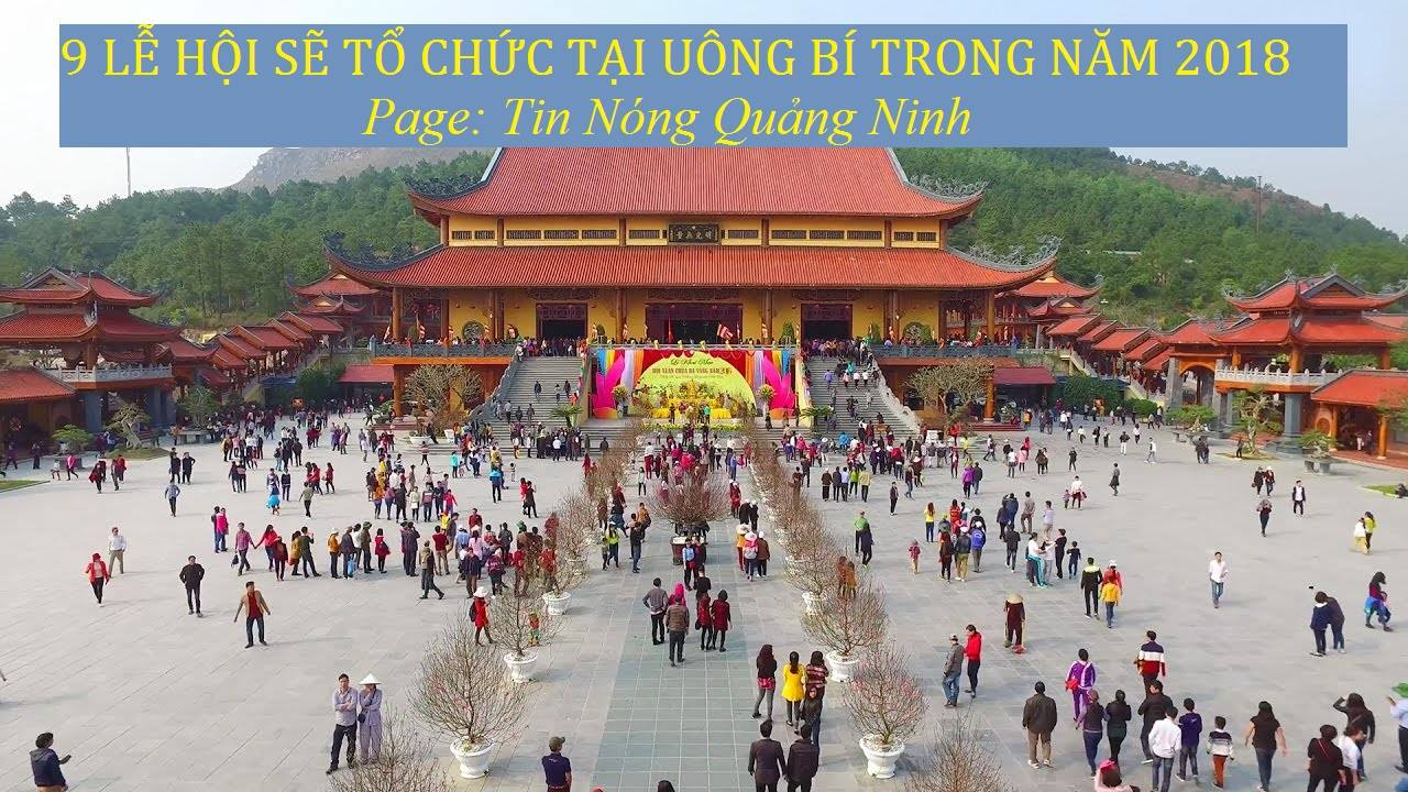 Tp. Uông Bí sẽ tổ chức 9 Lễ hội trong năm mới 2018