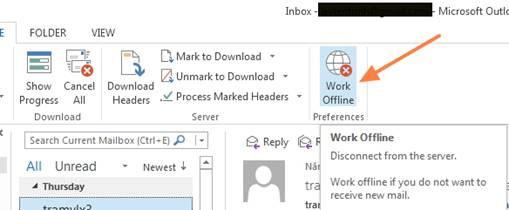 Mẹo hay khắc phục sự cố kết nối trên Outlook
