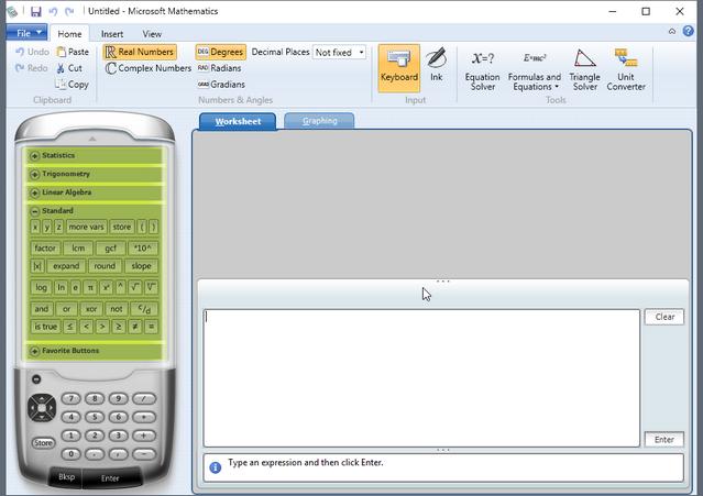 Microsoft Mathematics 4.0 - Phần mềm hỗ trợ tính toán