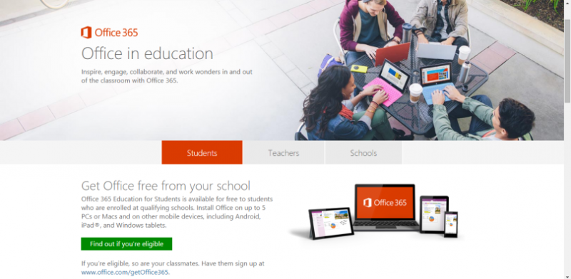 Microsoft Office 365 Professional Plus for Student and Teacher