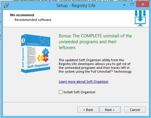 Phần mềm Registry Life v3.37 – Xóa và sửa chữa Registry miễn phí