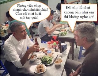 [Chuyện phiếm] Obama và bún chả