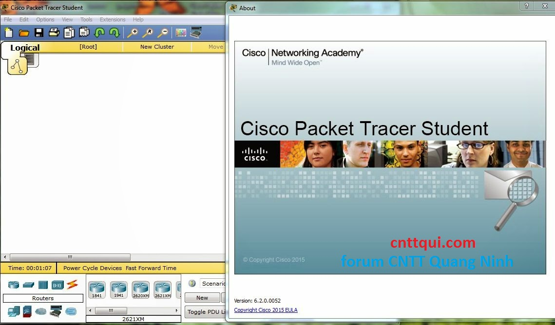 Phần mềm Cisco Packet Tracer 6.2 for Windows