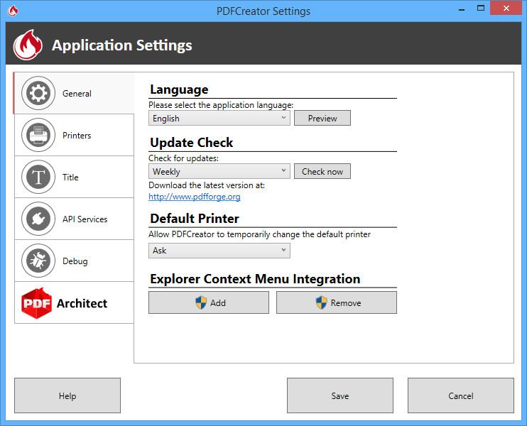 PDFCreator 2.5.0 - phần mềm hỗ trợ chuyển đổi tài liệu PDF