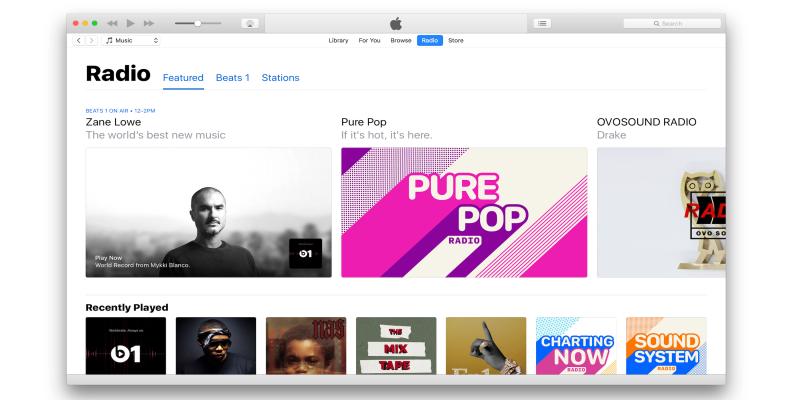 Phần mềm iTunes 12.5.1 cho Windows, MacOS