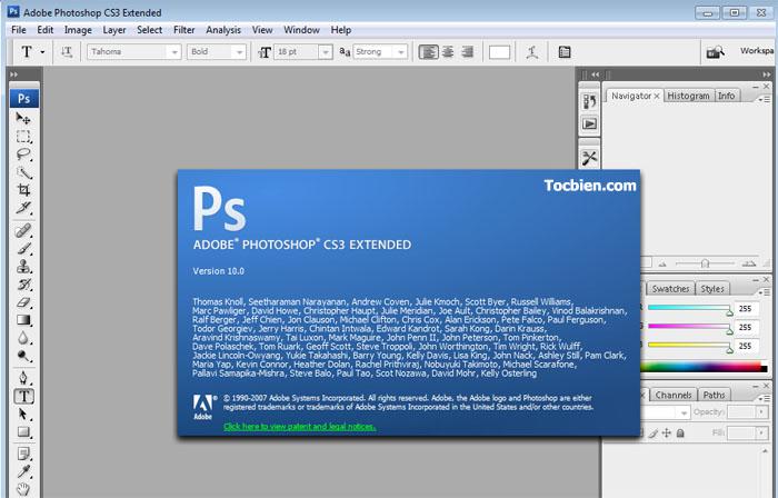 [Download] Photoshop CS3 Portable không cần cài đặt