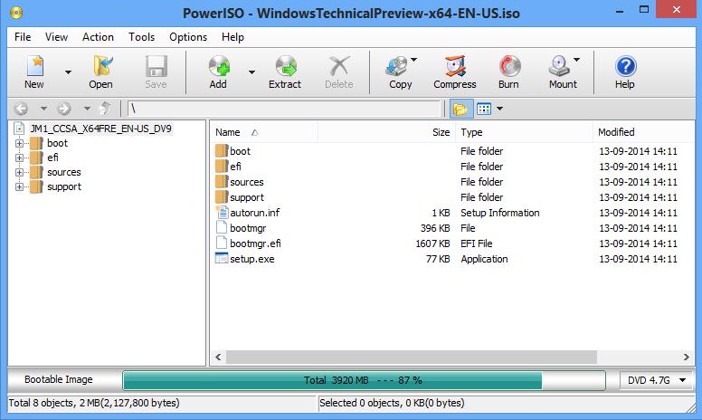 PowerISO v6.3 Full - Phần mềm tạo ổ đĩa ảo file ISO