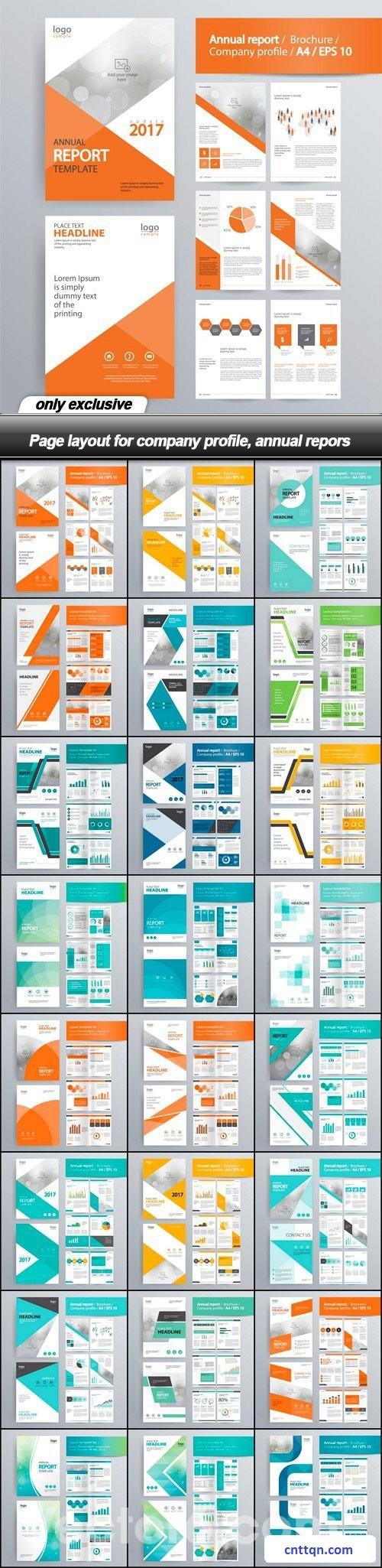 [PSD] Bộ sưu tập Profile tuyệt vời dành cho công ty, doanh nghiệp