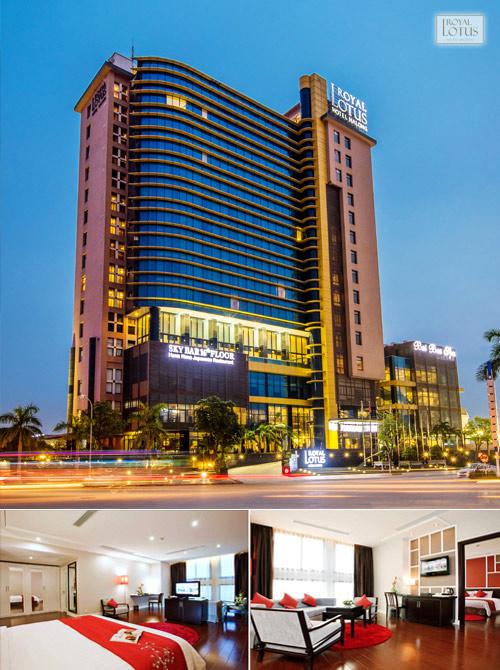 Royal Lotus Hotel Halong – Khách sạn 4 sao tiêu chuẩn Quốc tế