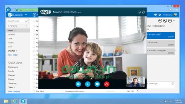Skype 7.33 - Phần mềm gọi thoại, gọi video, nhắn tin miễn phí