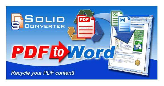 Solid Converter PDF 9.1 - Phần Mềm Chuyển PDF Sang Word