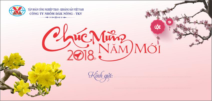 [Vector] Thiệp chúc mừng năm mới 2018 File Coreldraw