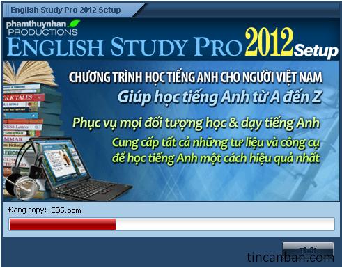 English Study Pro 2012 (Full data) - phần mềm học tiếng anh hay