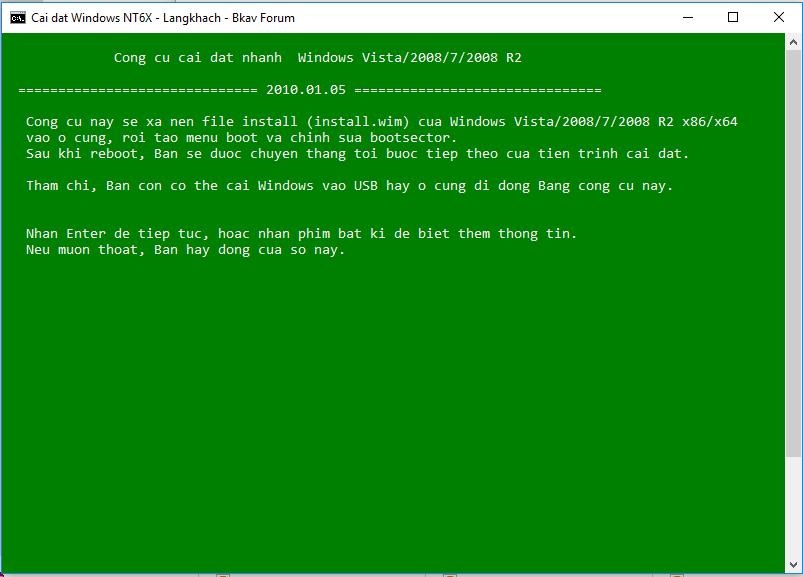 [Download] Công cụ cài nhanh Windows 7, 8, 10