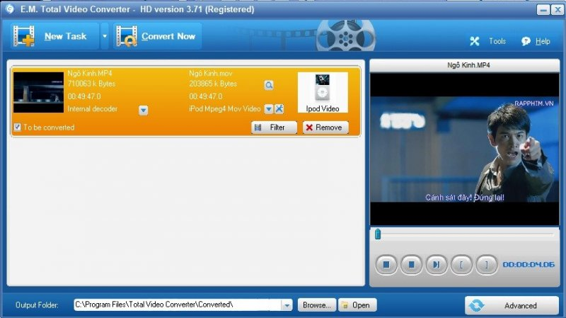 [Download] Phần mềm Total Video Converter HD 3.71 Full