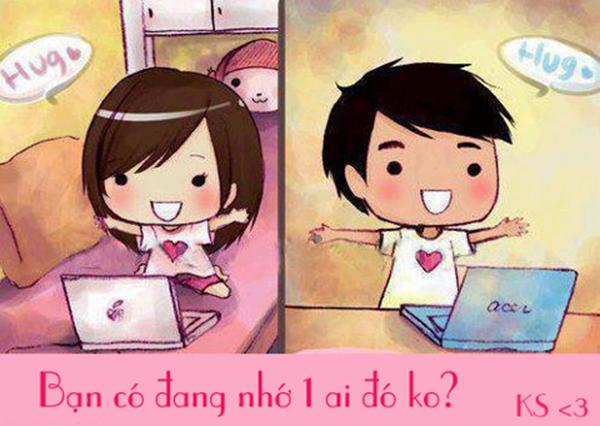 Tuyển tập những tin nhắn nhớ người yêu hay và lãng mạn
