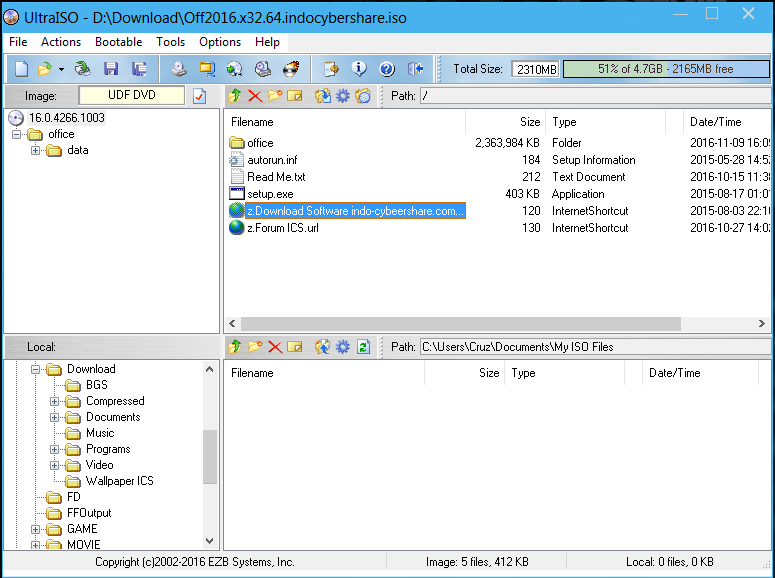 UltraISO Premium Edition 9.6.6 - Phần mềm tạo ổ đĩa ảo