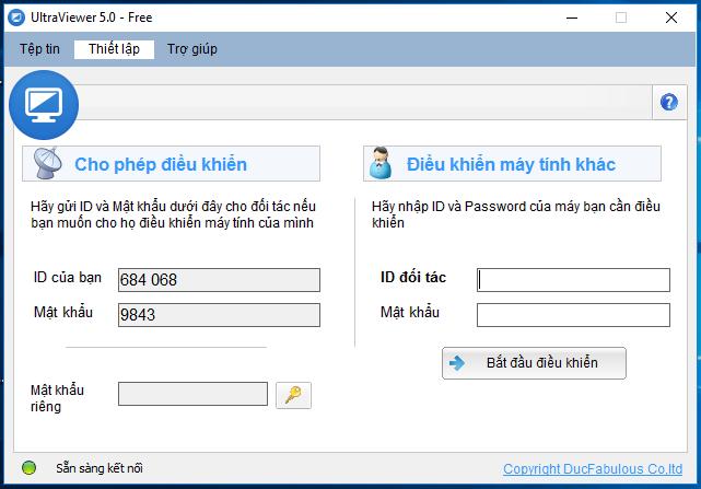[Download] Phần mềm điều khiển từ xa UltraView 6.0