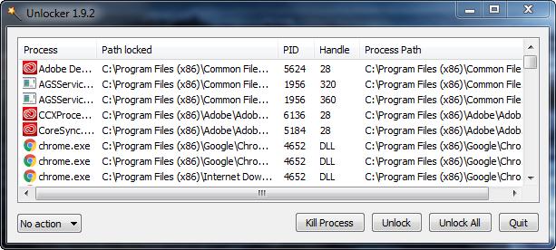 Unlocker 1.9.2 - Phần mềm xóa file cứng đầu trên Windows
