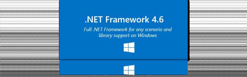 [Download] Microsoft .NET Framework 4.6 Full