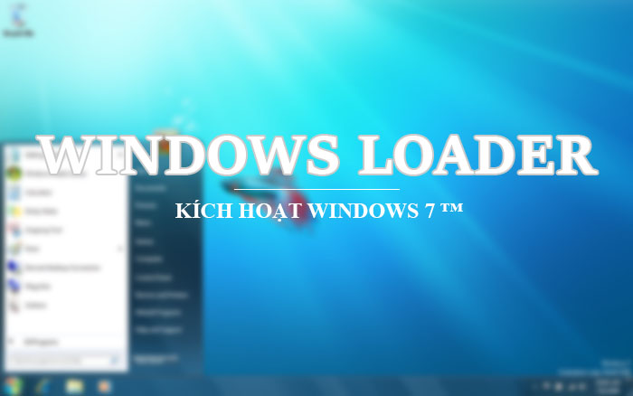 WinDows Loader 2.2.2 - Kích hoạt bản quyền Windows 7