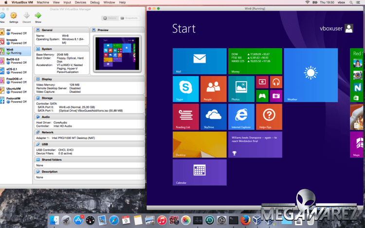 VirtualBox 5.1.20 - trình giả lập hệ điều hành cho máy tính tốt nhất