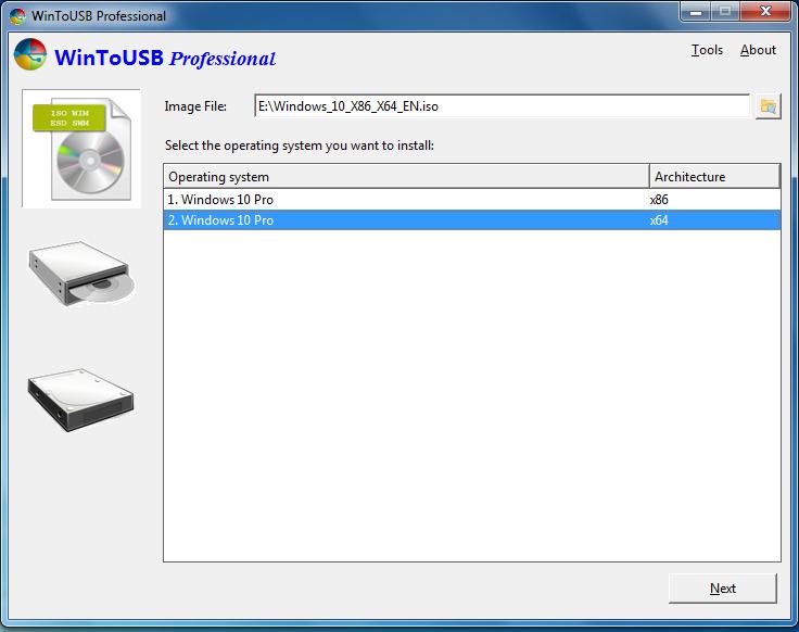 WinToUSB 3.5 - Phần mềm cài đặt Win vào USB/ổ cứng ngoài