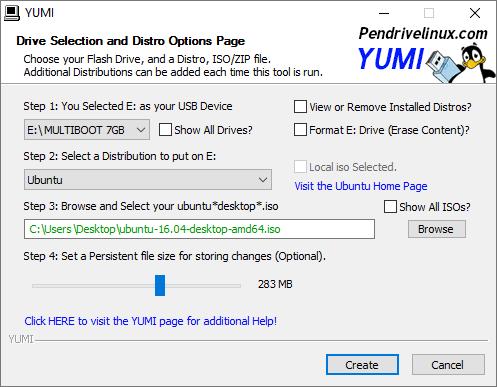 YUMI 2.0.4.2 - Công cụ tạo USB boot khởi động đa năng
