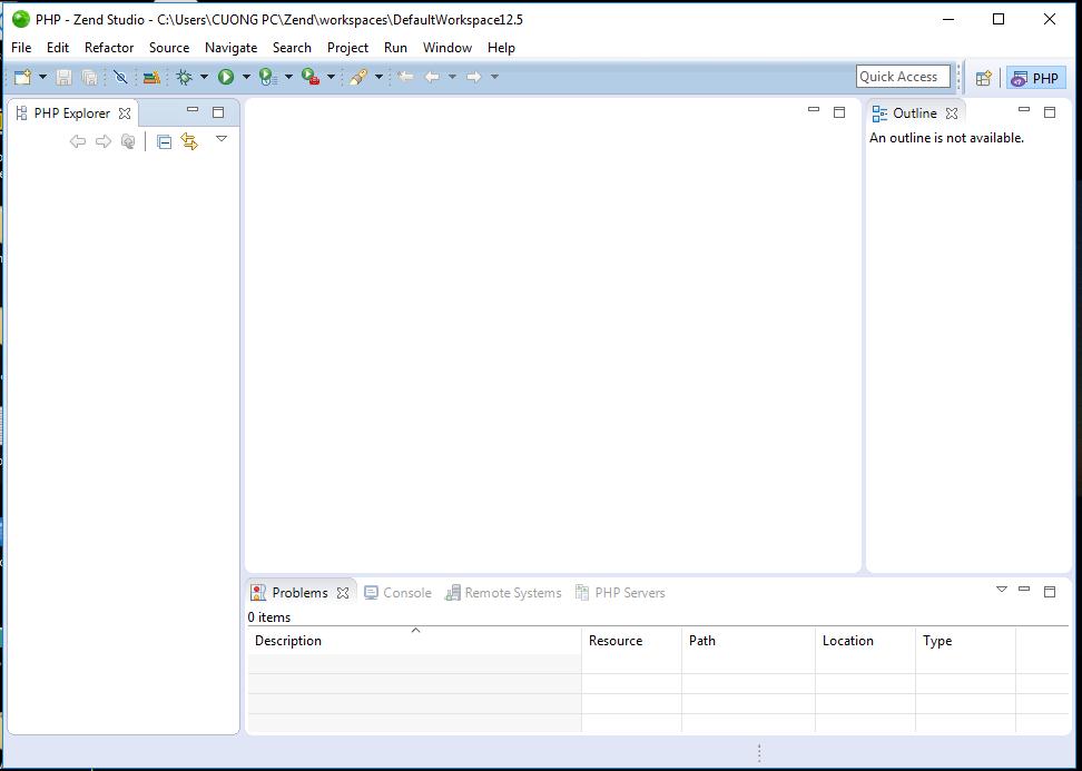 Phần mềm lập trình php - Zend Studio 12.5.1 Full