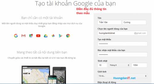 Huong dan tao tai khoan forex.com