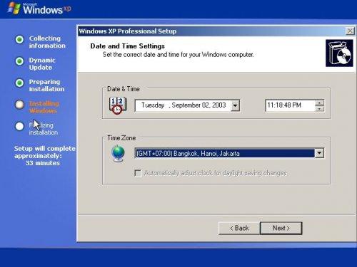 cách cài win XP bằng hình ảnh