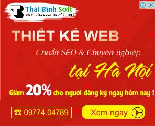 Thiết kế website chuẩn seo và chuyên nghiệp